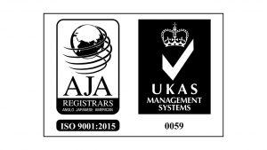 AJA UKAS 9001_2015 B&W